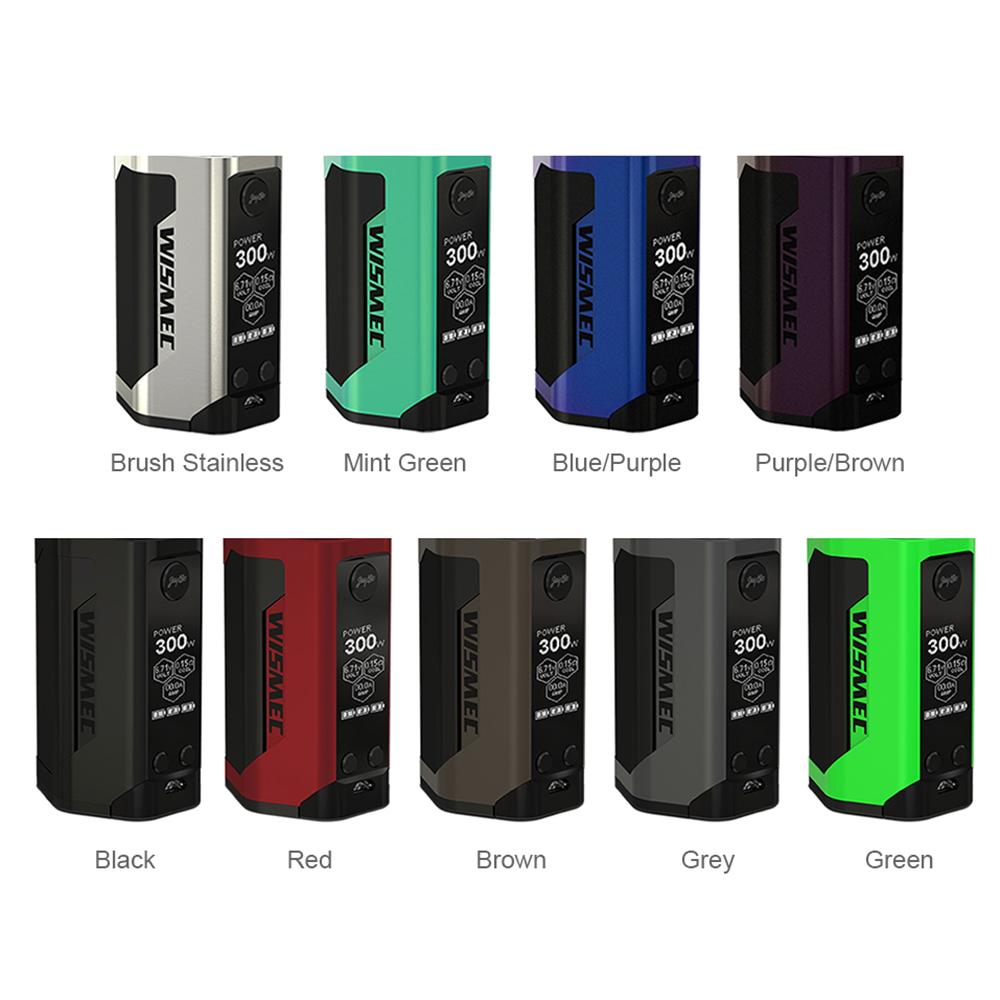 Original 300 W WISMEC Reuleaux RX GEN3 TC caja MOD. 300 W No18650 caja de batería Mod enorme poder E -Cig Mod Vape del Drag 2/luxe mod - 2