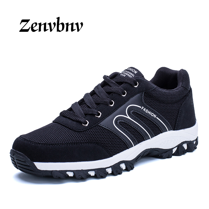 ZENVBNV 2018 Mens Fly Weave Running Shoes Weave Breathable Soft Trend Sneakers Male Sport Shoes Cushioning Gym Male sneakers