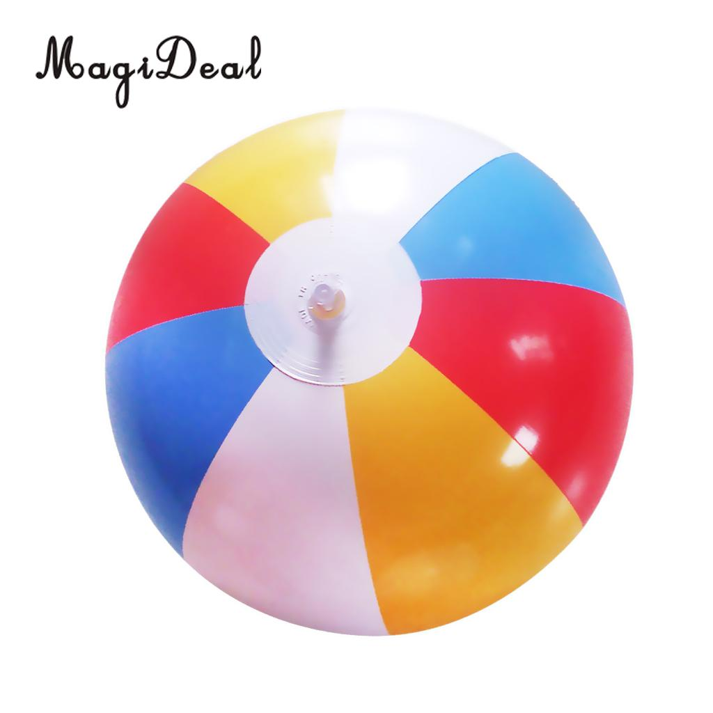 MagiDeal 12 Inflatable Swimming Pool Party Beach Sand Water Ball for Children Baby Outdoor Sport Toy -8 Pieces of Colors Mixed