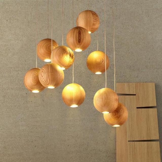 moderne bois lustre pour salon cristal luminaire lustre lustres par quarto enfants chambre led. Black Bedroom Furniture Sets. Home Design Ideas