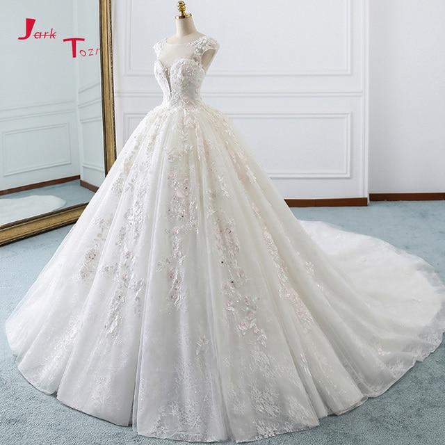Jark Tozr Cap Sleeve Lace Ball Gown Wedding Dresses. Add Cart.  15.99.  TRiXY A16 Flowers Accessories Romantic Bridal Bouquet Blue d3cfde9cb0f1