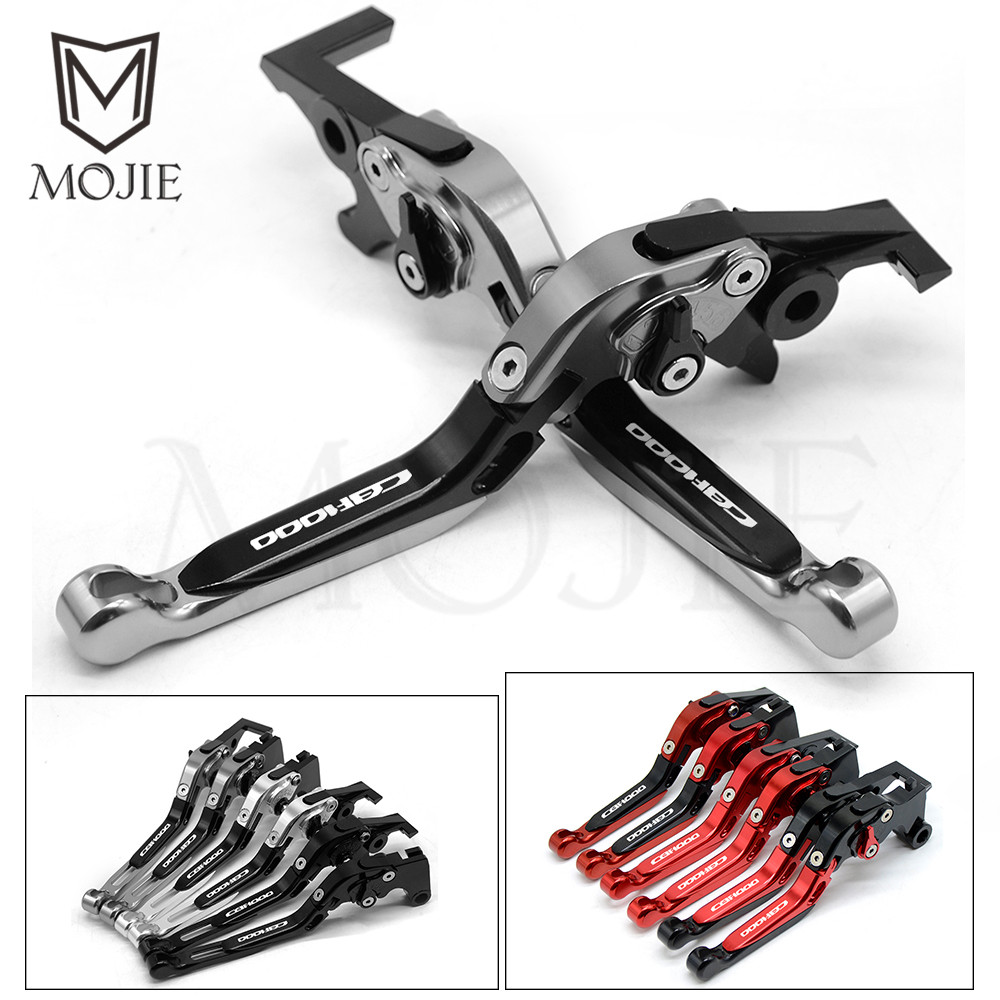 <font><b>CBF1000</b></font> Lever CNC Adjustable Folding Extendable Motorcycle Brake Clutch Levers For <font><b>Honda</b></font> <font><b>CBF1000</b></font> CBF 1000 2006 2007 2008 2009 image