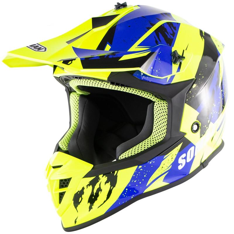Casque moto ECE Double D anneau boucle ktm hors route ktm casques Motocross mt ls2 Capacete tonnerre Motociclismo Capacetes