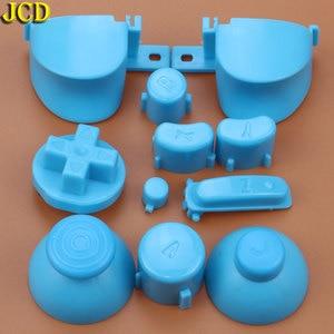 Image 3 - JCD مجموعة كاملة L R ABXY Z لوحات المفاتيح أزرار مع ثلاثية الأبعاد Thumbsticks قبعات ل gamquibe ل NGC D منصات السلطة على قبالة أزرار