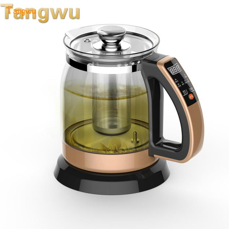 Free shipping Multifunctional health pot kettle with thick glass automatic tea insulation free shipping multifunctional health pot kettle with thick glass automatic tea insulation safety auto off function