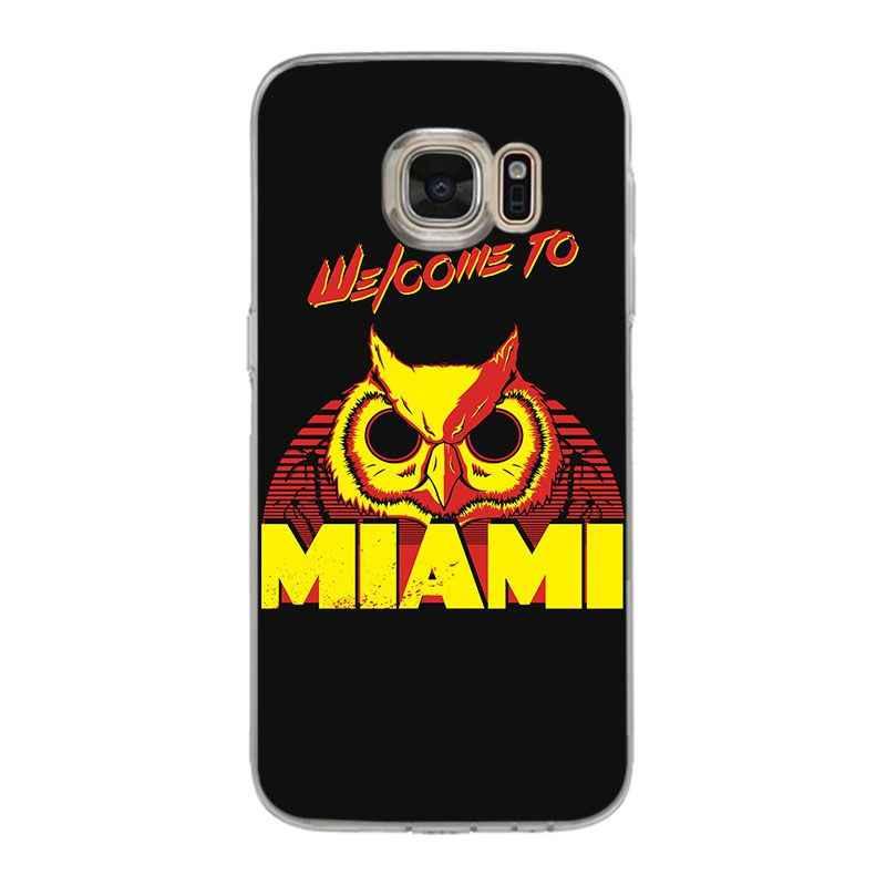 Yinuoda Hotline Miami 2 Numero Sbagliato su A Vapore Del Telefono Gufo Custodie per samsung galaxy S9 più S7 bordo S6 bordo più di s5 S8 più
