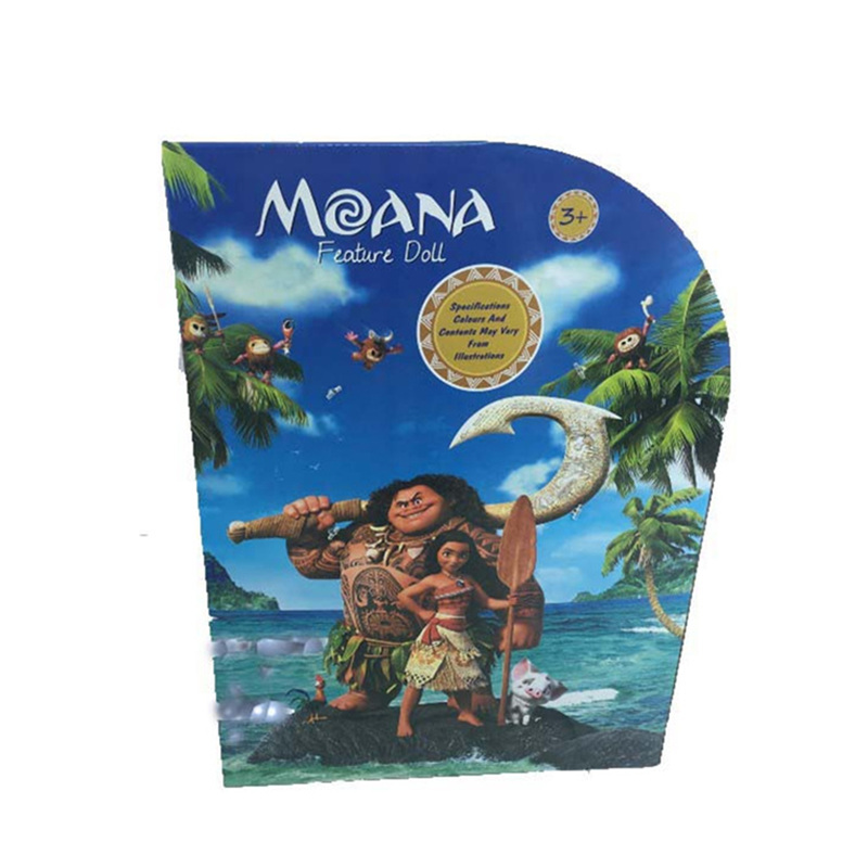 Image 4 - Disney Toys Movie Moana Waialiki Maui 20cm Doll Model with Music Action Figure Cosplay Childrens Birthday Gift Christmas GiftAction & Toy Figures   -