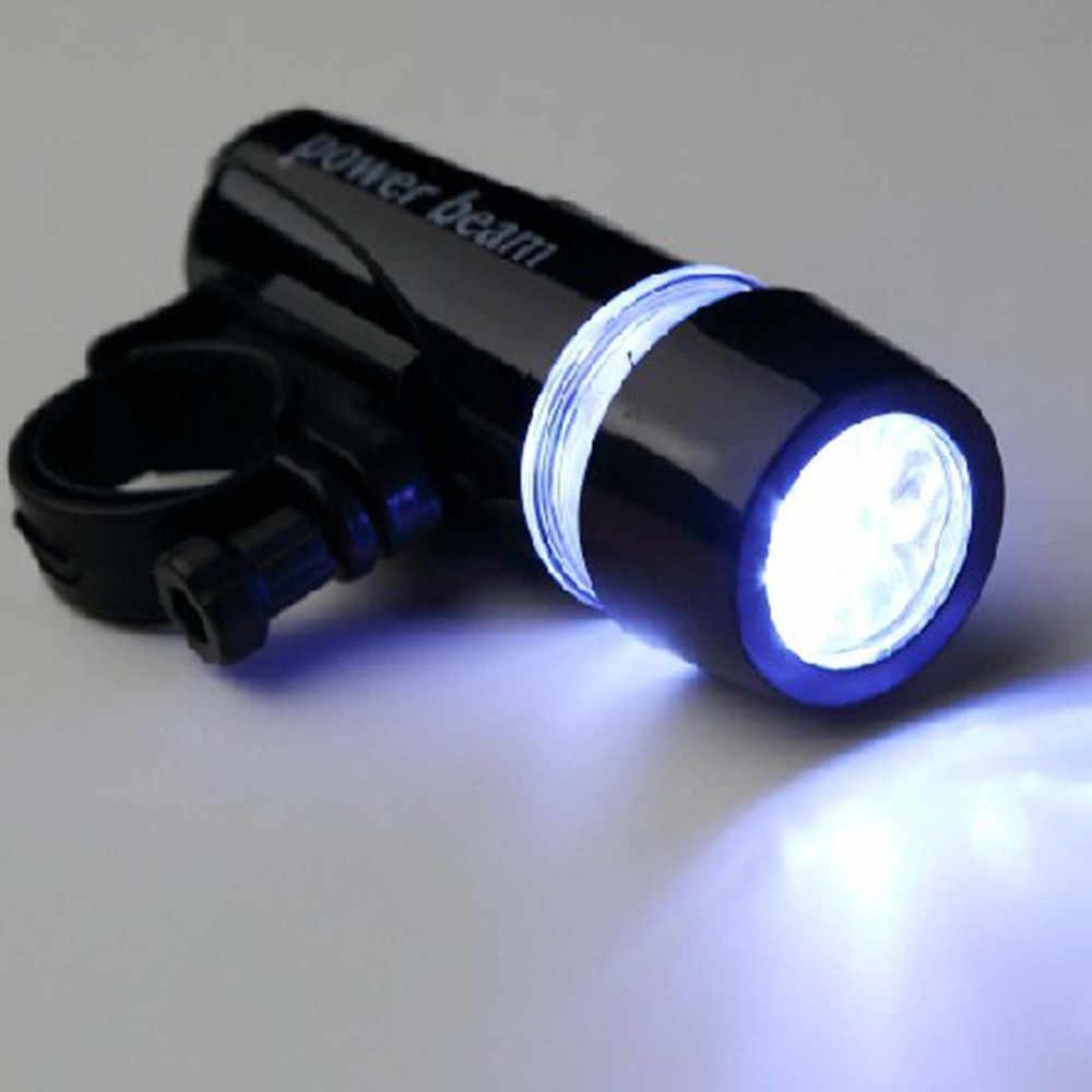 Новый высококачественный водонепроницаемый яркий 5 светодиодный велосипедный передний фонарь для велосипеда + 3 режима задний фонарь прочный алюминиевый сплав