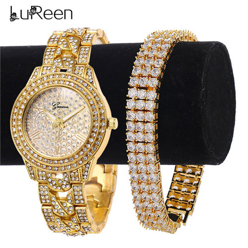 Lureen Gold Quartz Watch...
