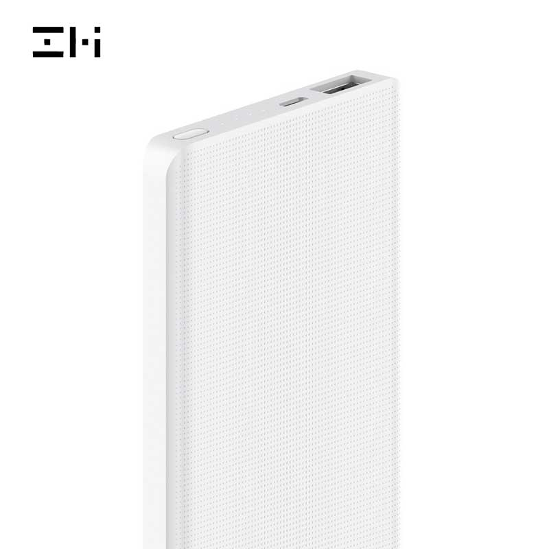 ZMI Power Bank 10000mAh Powerbank External Battery portable charging Quick Charge 2.0 Two Way Fast Charge Pack for iPhone