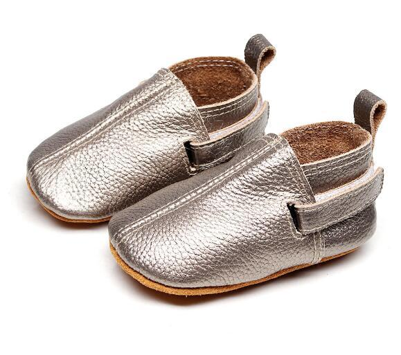 2019  customs new hot sell baby moccasins genuine leather handmade baby girls boys shoes first walkers fashion baby shoes 2