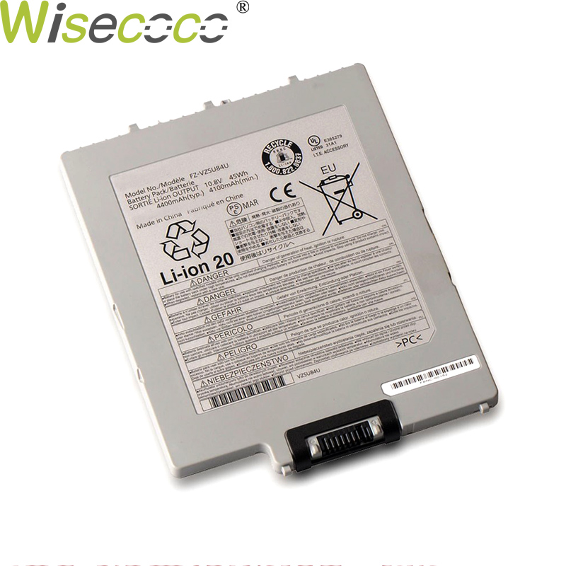 WISECOCO 4400mAh FZ-VZSU84U FZ-VZSU84R Battery For Panasonic Tablet PC FZ-G1 G1 Notebook FZ-VZSU88U VZSU84UR Phone+Tracking Code фото
