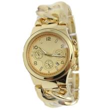 Модельер дата показа кой лук ремешок-цепочка мужские золотые часы горячей продажи Кварцевые Часы женщины моды для мужчин часы