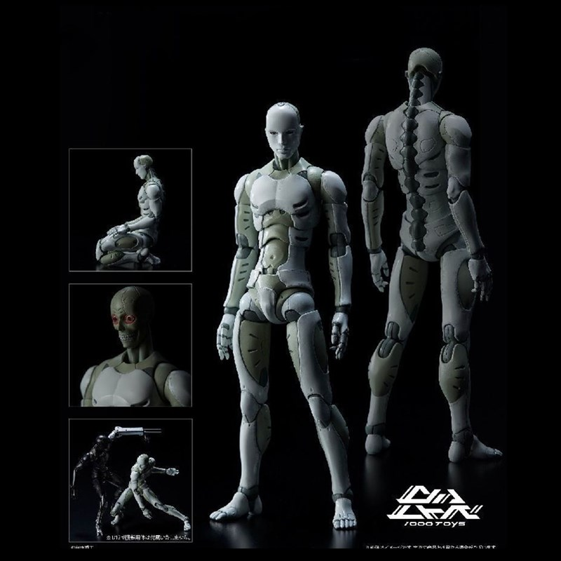 Nouveaux jouets TOA Industries lourdes homme Voxel 1/6 figurine mobile Figma ABS Figuarts Ferrite corps Kun Figure pour cadeau M62