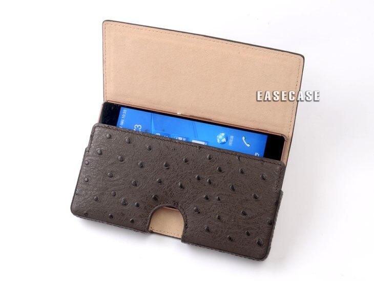 D1 Sur Mesure Véritable Ceinture En Cuir Cas Pour Blackberry KEYone
