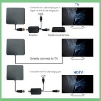 dvb digital חינם טלוויזיה פוקס HD Digital DTV מקורה טלוויזיה אנטנה TVFox HDTV Antena DVB-T DVB-T2 VHF UHF ISDB ATSC DVB אותות מקלט טלוויזיה אנטנה (3)