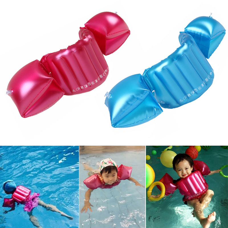Kids Baby Inflatable Swim Arm Float Ring Swim Circle Ring Infant Float Trainer Swimming Pool Accessories shop BB55