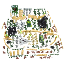 250pcs/set Soldier Model Sandbox Game Military Toy Soldier Army Men Figures Accessories Playset Kit Model Toy For Kids Boys children s 28pcs set medieval knights warriors horses kids toy soldiers figures static model playset playing on sand castles