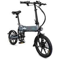 FIIDO D2 Electric Bicycle Smart Folding Bike Electric Moped Pedal Bicycle 7.8Ah Battery / with Double Disc Brakes EU PLUG