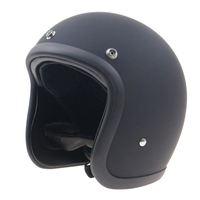 Japanese Style Chopper Bike Motorcycle Helmet Extra Light Weight And Comfortable Shell Handmade Fiber Glass Shell