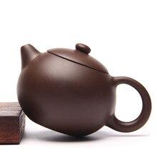 Handmade China Tee-Set Yixing Zisha Teekanne Xi Shi Teekanne Folk künstler Lila Schlamm Kung Fu Teekanne 200 Ml Lila Ton Gongfu teekanne