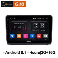 HD 10.1 inch Android 8.1 Quad 4 Core 2GB RAM+16GB ROM Car DVD Player For Ford Ecosport 2018 GPS Navigation Radio Stereo