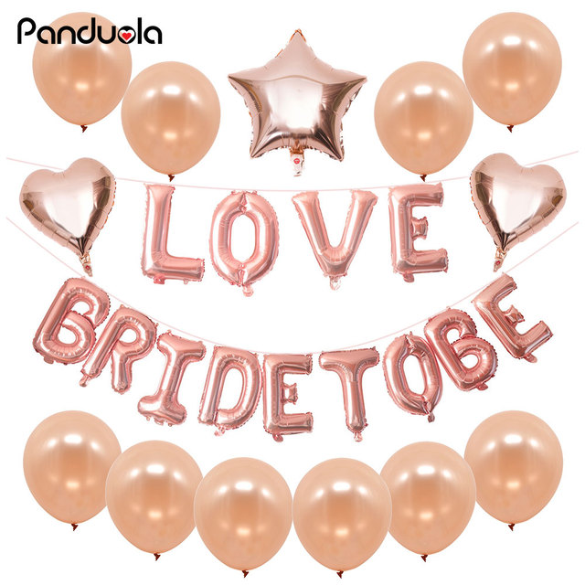Happy Birthday Balloons Rose Gold Decoration Home Letter Party 18 Aluminum Balloon Helium Ballon Kid