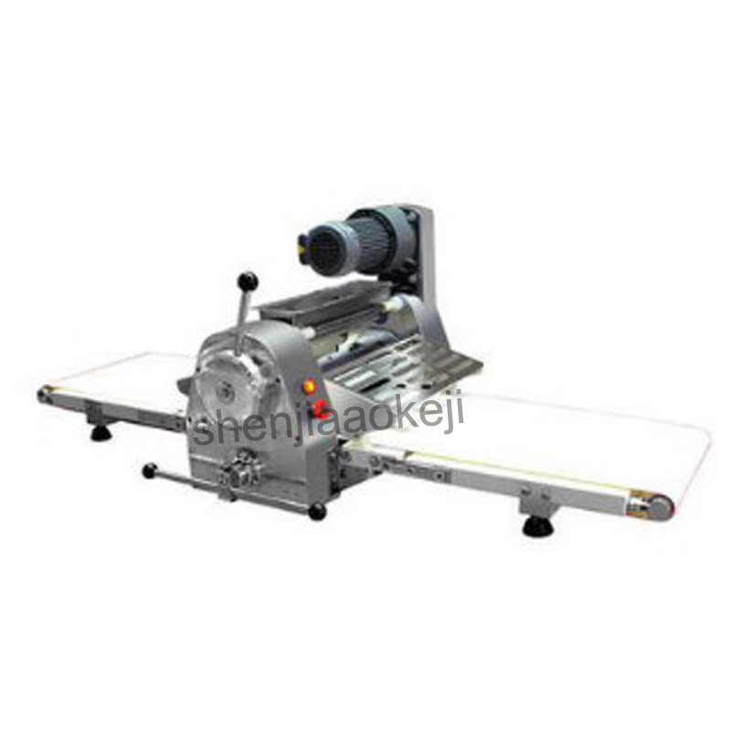 Electric Bread Pastry dough shortening machine Pizza bread slicing machine roller press sheeter machine STPY BC400 1pc