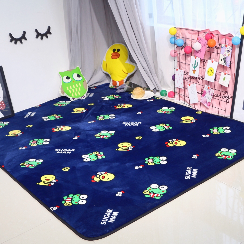 Funny bathroom rugs - Creative Frog Carpet Non Skid Porch Bath Soft Polyester Doormat Funny Cartoon Animal Design Rug