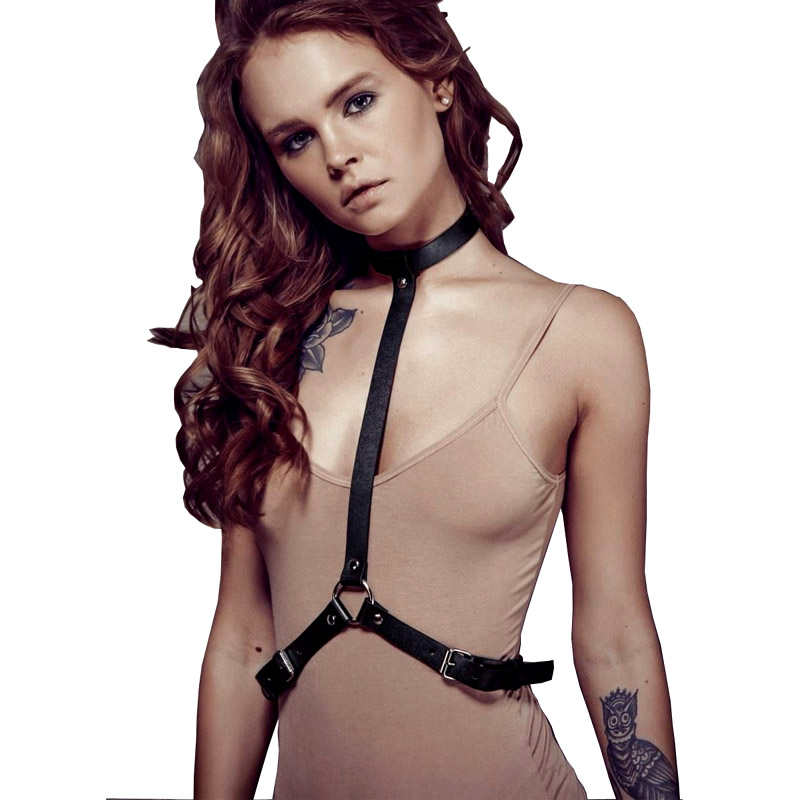 Harness Lingerie Belts For Women Jartiyer Sexy Rave Pastel Goth Suspenders Intimo Sexy Erotico Bdsm Collar Seks Arnes Mujer Punk