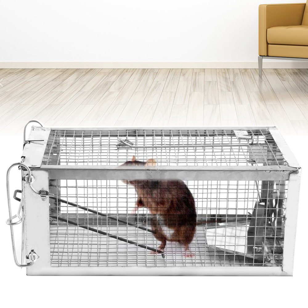 Rat Trap Heavy Duty Catch Mouse Pest Animal Trap-Easy Set Catching Catcher Mouse Traps Rat Traps Cage Pest Control