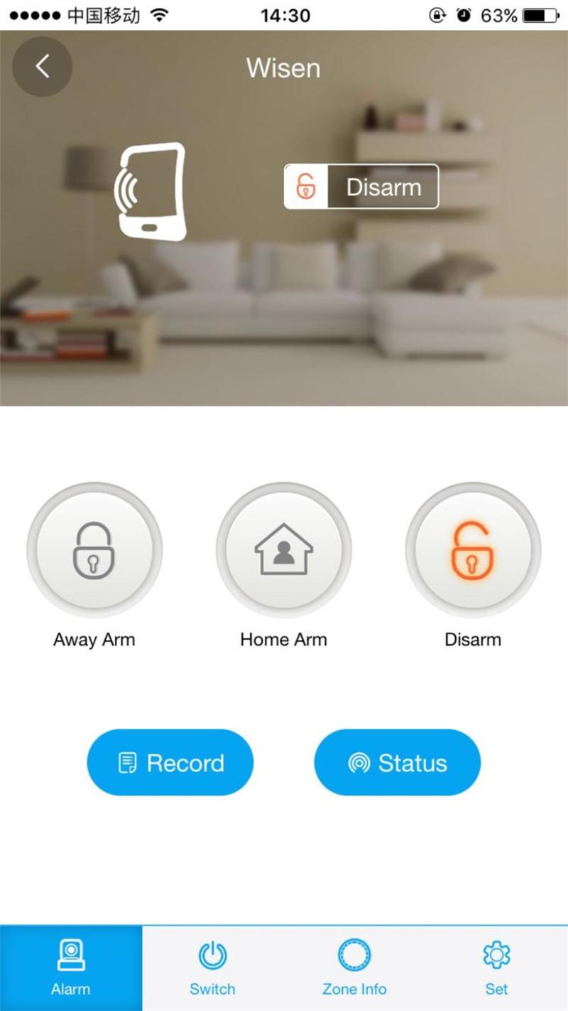 WIFI GSM Doorbell Alarm System  7