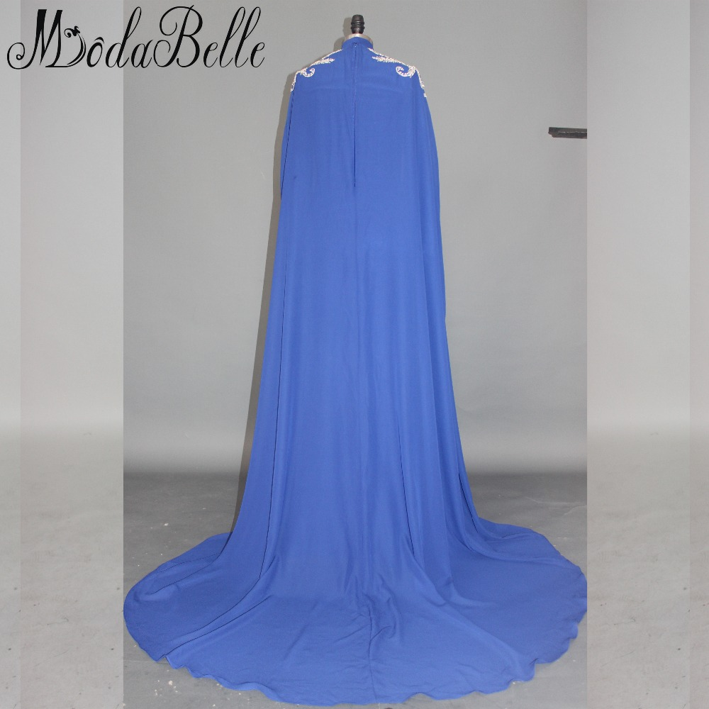Modabelle Saudijska Arabija Muslim Večernja haljina s dugim Cape - Haljina za posebne prigode - Foto 2