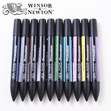 Winsor Newton Promarker  6/12 Colors Art Marker Fine Tip Alcohol Based Marker Pens Double Headed Twin Markers Animation Design
