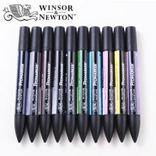 Winsor Newton Promarker 6/12 Farben Kunst Marker Feine Spitze Alkohol Basierend Marker Stifte Doppel Headed Twin Marker Animation Design
