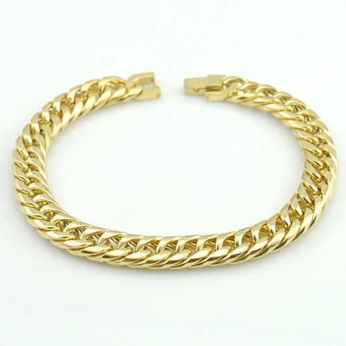 Boy's Men's Stainless Steel Link Chain Bracelet 16 Fashion Jewellery, Wholesale Free shipping, HB027 10