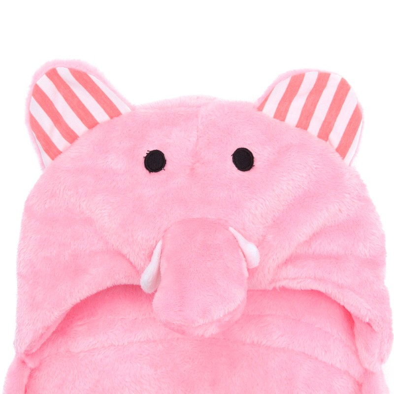 Cute Animal Cartoon Baby Flannel