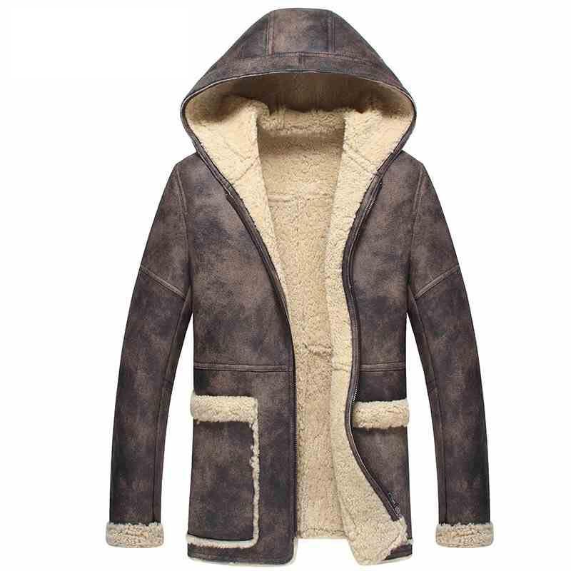 Mantel mit fell herren