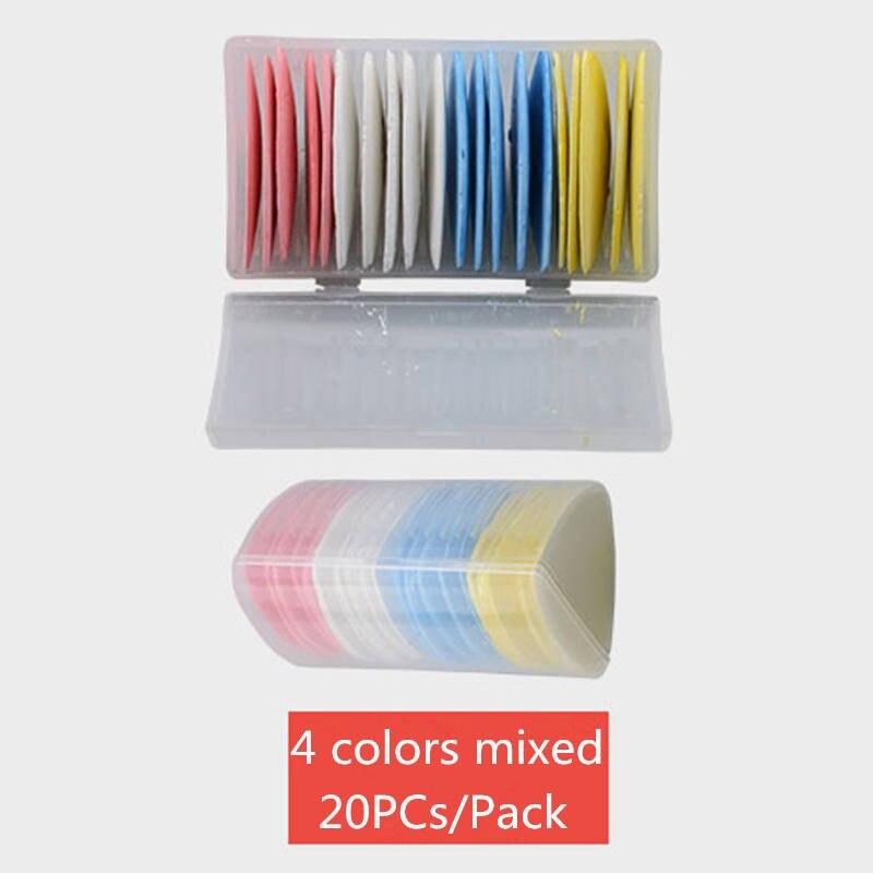 20件/包裁缝粉笔白色/粉色/黄色/蓝色多彩缝纫裁缝服装图案制作家居工艺DIY配件床制作工具