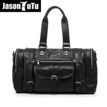 8093ca68fb60 Дизайнерские сумки высокого качества из натуральной кожи мужская сумка  Европейский дорожные сумки на ремне через плечо