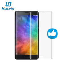 Hacrin For XIAOMI MI NOTE 2 Tempered glass High Quality 3D Curved Full Cover Screen Protected Film For XIAOMI MI NOTE 2(China)