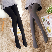 Pantyhose Velvet Tights Candy Color Stockings Step Foot