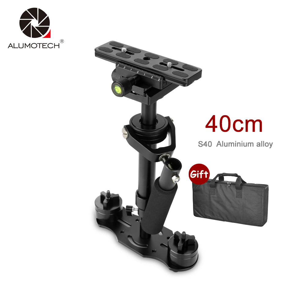 ALUMOTECH S40 Steadycam S 40 Plus 1 3kg 40cm Aluminum Handheld Stabilizer Steadicam DSLR Video Camera