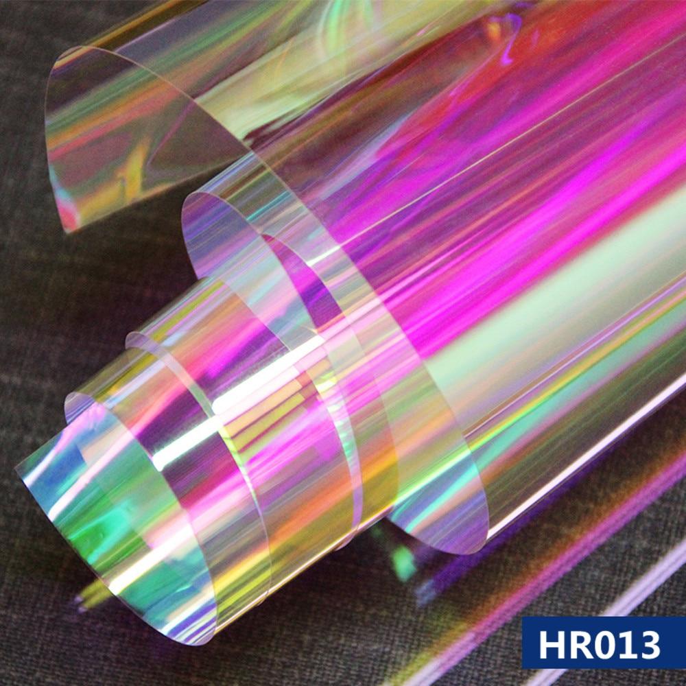 Decorative Rainbow Dichroic Colorful Window Film Gift Iridescent Glass Sticker