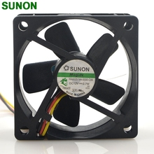 For Sunon HA60251V4 0000 C99 6CM 6025 60mm DC fan 12V 0.7W Maglev silent fan