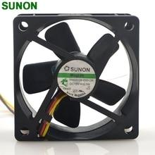 Вентилятор постоянного тока для Sunon, бесшумный вентилятор 12 В, 0,7 Вт, 6 см, 6025, 60 мм