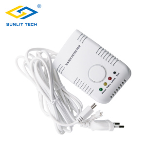 Image 2 - Russian Shipping Portable Water Leak Detector Flood Leak Sensor Alarm with Sensitive Water Cable and Valve Connection Cable