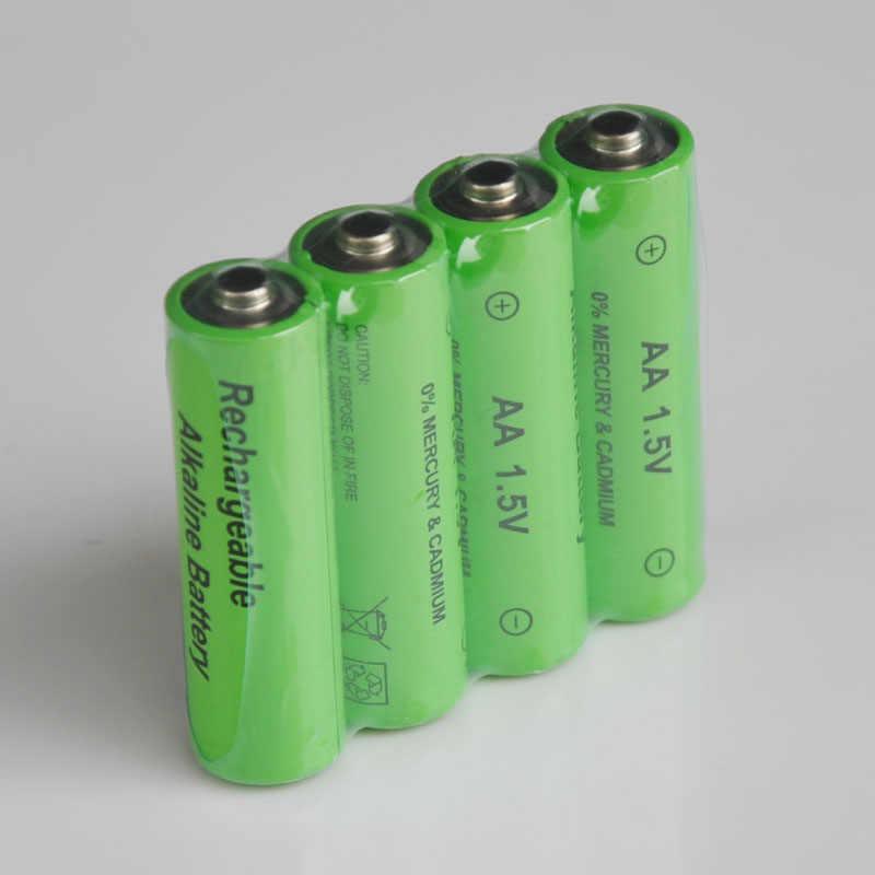 4 шт./лот 1,5 в 3000 аккумулятор АА, мАч Щелочная аккумуляторная батарея 2100 мАч 1,5 В AAA батарея для фонарь на аккумуляторных батареях