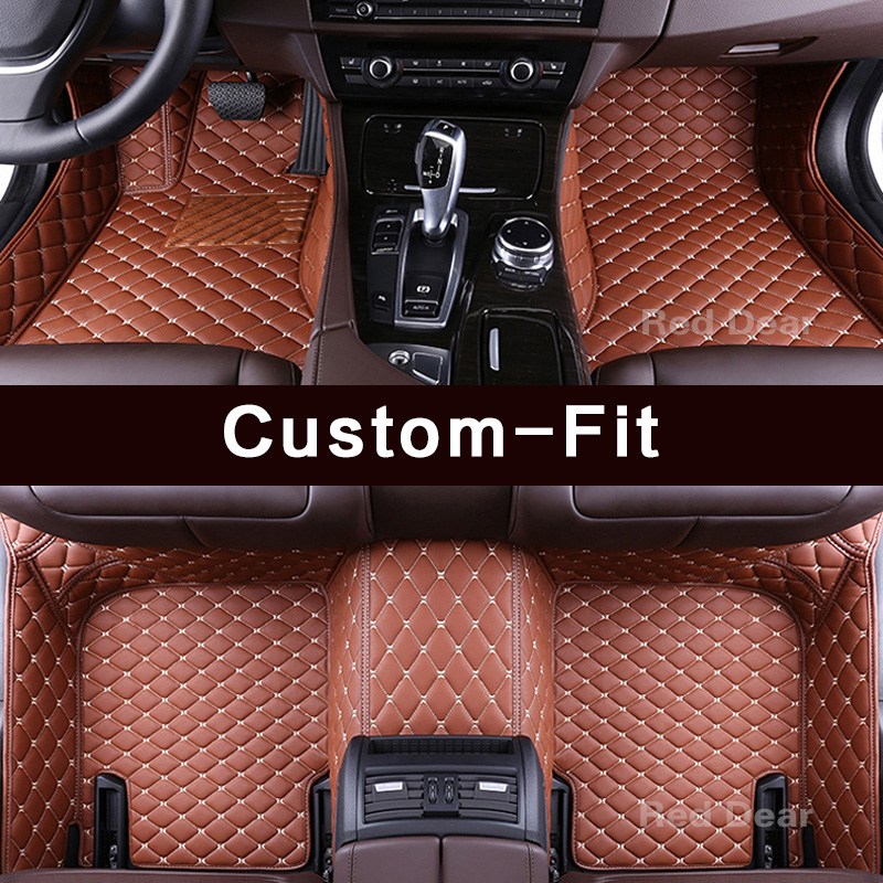 US $89 57 47% OFF|Customized car floor mat specially for Chevrolet Tahoe  Suburban Traverse Malibu 3d all weather high quality luxury rugs liners-in