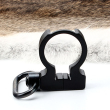 Tactical QD Quick Detach Black End Plate Sling Swivel Adapter Mount for Hunting .223/5.56 Carbines AR15 M4 Rifle